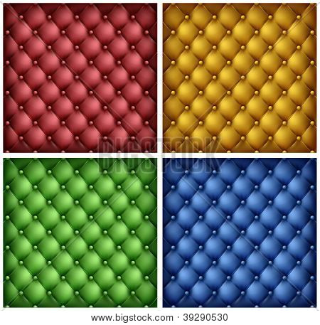 Color Leather Upholstery Background