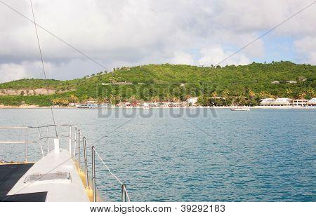 Catamaran Tour To Antigua