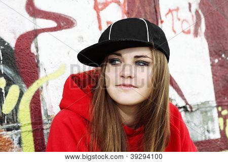 Urban Teenager Young Woman