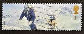 UNITED KINGDOM - CIRCA 2003: A stamp printed in Great Britain shows Members of 1953 Everest Team (Ed