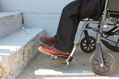 image of overcoming obstacles  - Wheelchair - JPG