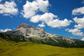 Beautiful Panorama Of The Dolomites - Sexten