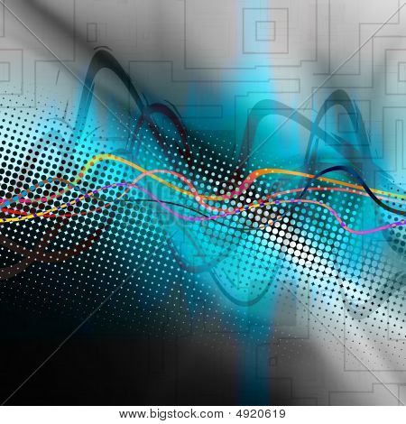 Graphic Audio Waveform