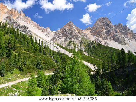 Fanes Park, Dolomites - Italy