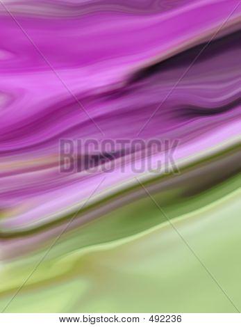 Green Purple Background