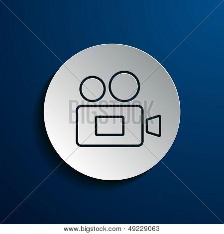 Stock camera icon