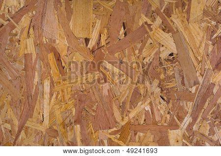 Pressed sawdust