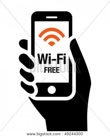 Kostenlose Wi-Fi-Symbol