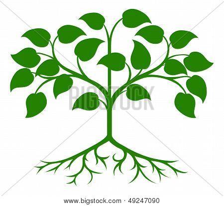 Stylised Tree Icon