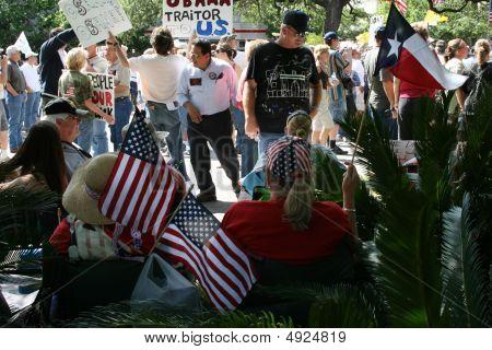 San Antonio Tea Party Rally