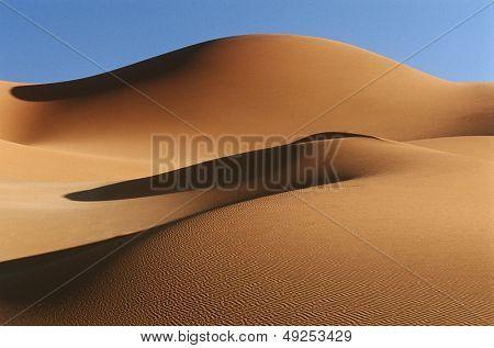Dunas de arena del desierto de Namib Namibia