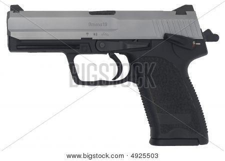 Cocked And Locked Handgun