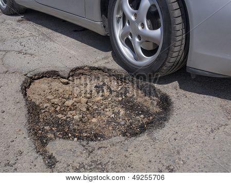 Pothole avoidance concept