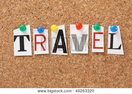 The word Travel