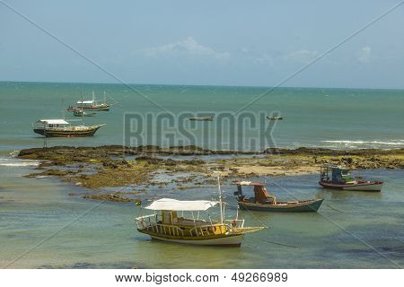 Boats On A Reef