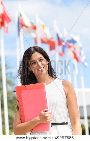 International Scholarship Female Student