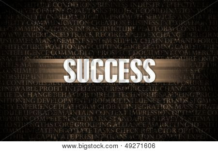 Success in Business as Motivation in Stone Wall