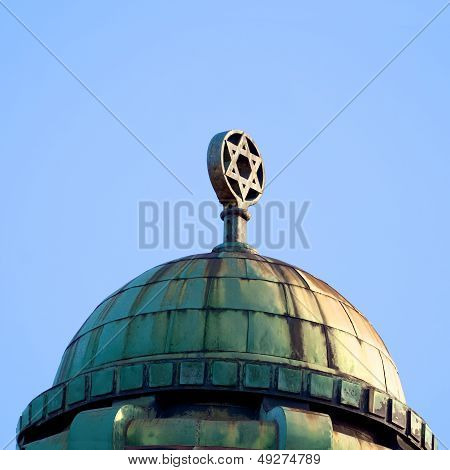 Roof Of A Melbourne Synagogue