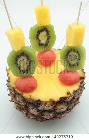 Skewers Of Fruits