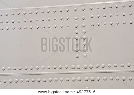 White Aircraft Rivets Texture