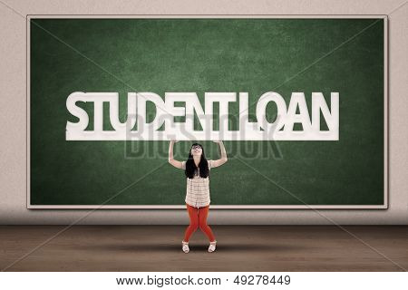 Student Loans Concept