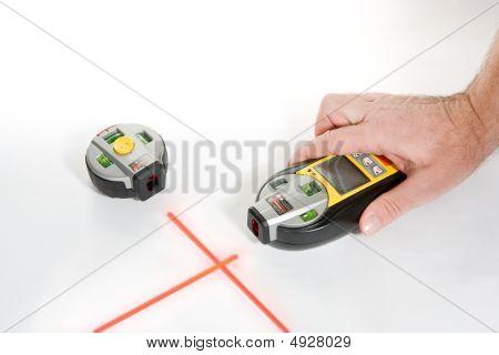 Nivel láser electrónico