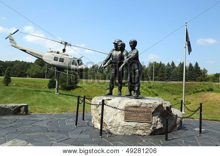 Vietnam War Memorial in Bangor, Maine