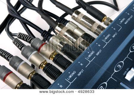 Music Mixer Inputs