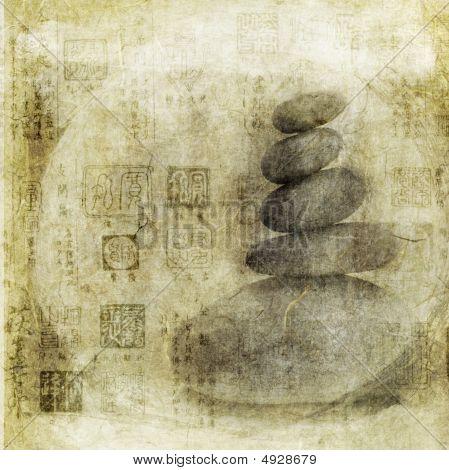 Meditação de pedra
