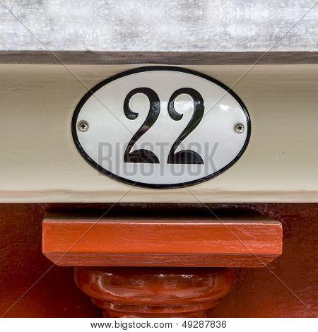 Number 22