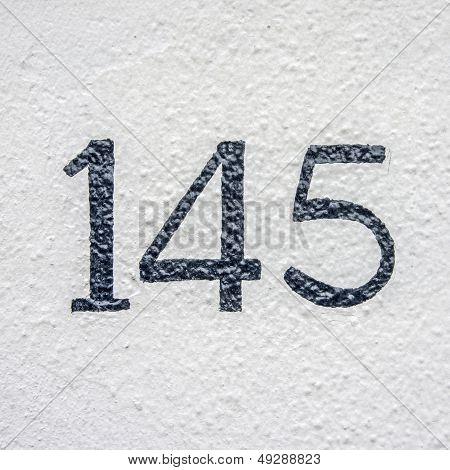 Number 145