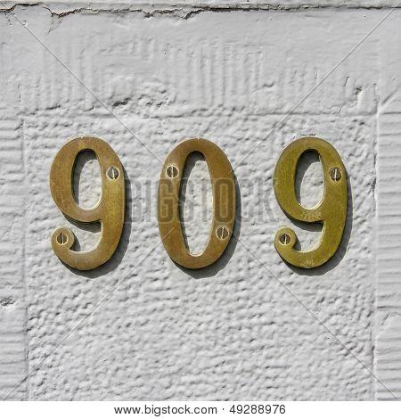 Number 909