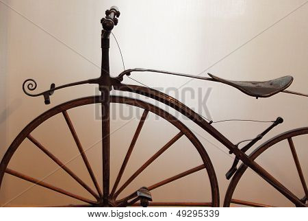 Old times bicycle