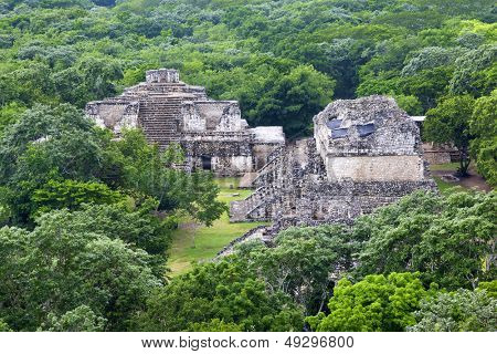 Maya city of Ek Balam. Mexico.