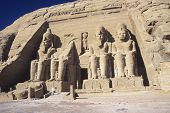Постер, плакат: Храм Рамсеса II в Абу Симбел