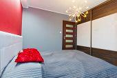 foto of master bedroom  - Modern master bedroom interior - JPG