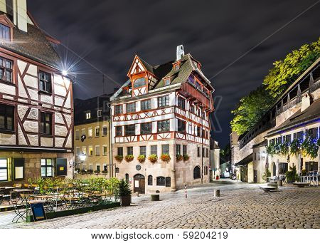 Nuremberg, Germany at the historic Albrecht Durer House.