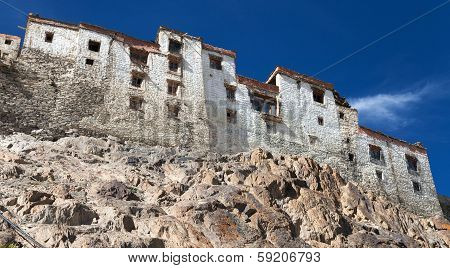 Karsha Gompa - Buddhist Monastery In Zanskar Valley - Ladakh - Jammu And Kashmir - India