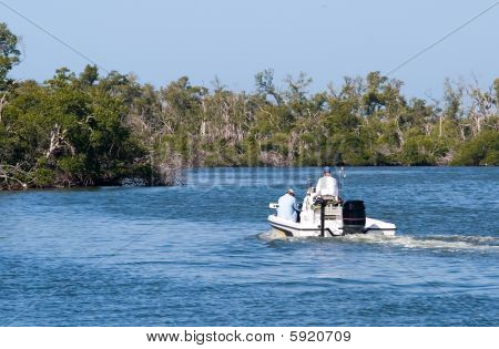 Wetlands Boating