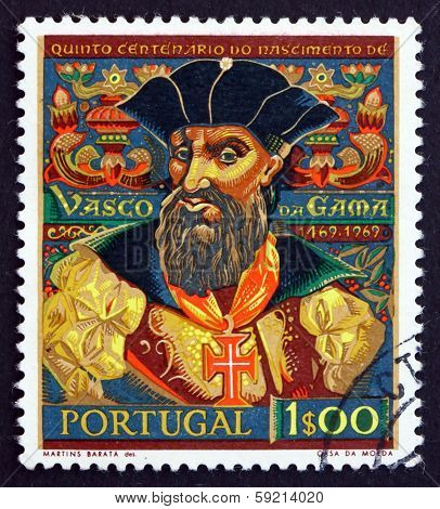 Postage Stamp Portugal 1969 Vasco Da Gama, Navigator