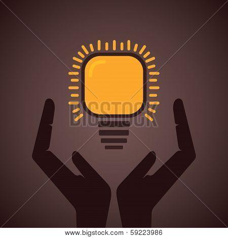 save energy concept symbol
