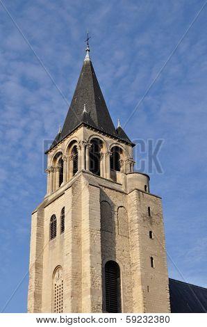 The abbey church of Saint-Germain-des-Prés (Église de Saint-Germain-des-Prés), Paris, France