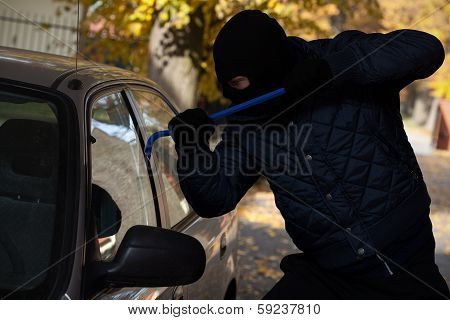 Car Window Break-in