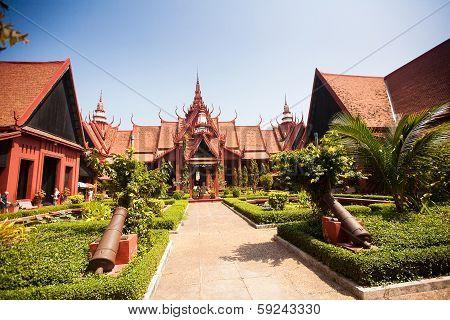 The National Museum Of Cambodia (sala Rachana) Phnom Penh, Cambodia.