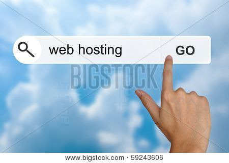 Web Hosting On Search Toolbar