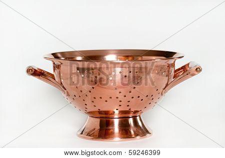 Copper Colander