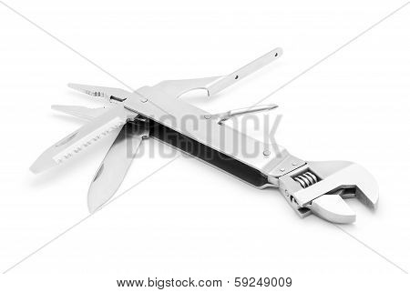 Adjustable Wrench And Multitool