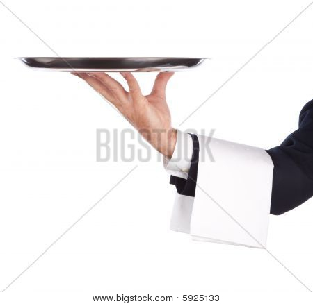 Waiter With Tray