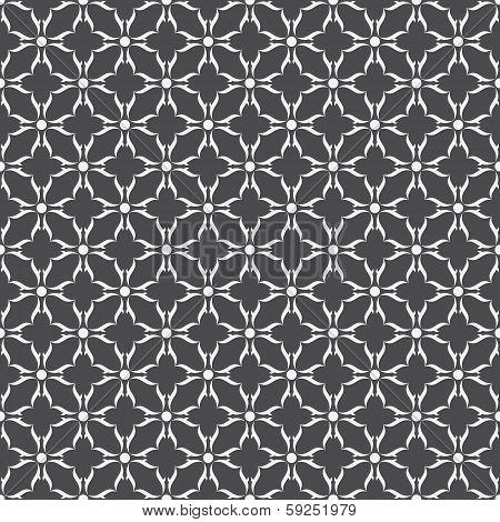grey design in black background vector