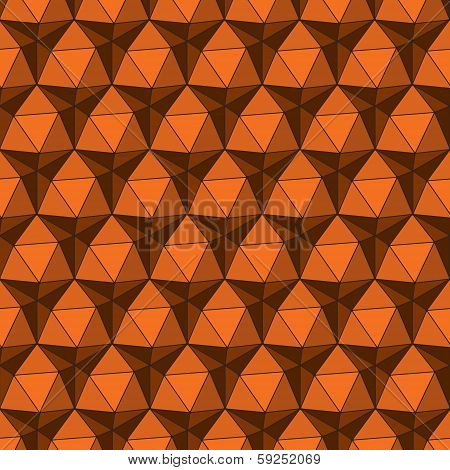 creative abstract triangle background vector